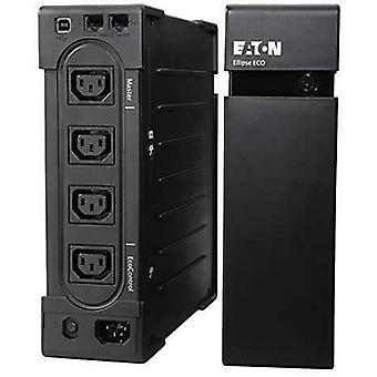 Eaton Ellipse ECO USB IEC UPS Rack and External 8 Connectors AC 230V 750W 1200VA