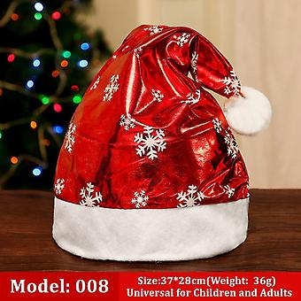 Cartoon Cute Woven Snowman Antler Santa Claus Christmas Hat Party Dressed Up For Adults And Children