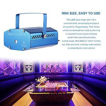 Мини R&g 110-240v Регулировка Dj Disco Party Led Лазерный проектор Сценический свет
