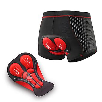 Men's Cycling Underwear Shorts Breathable 3d Gel Padded Mtb Biking Riding Shorts