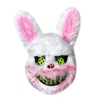 Sofirn Halloween Scary Rabbit Mask, krwawa maska króliczka