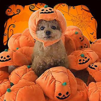 Halloween Funny Pumpkin Hat Pet Hat