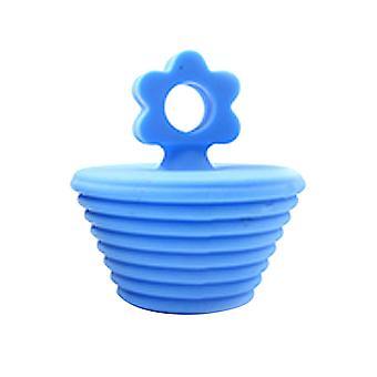 Flower Silicone Plug Abrasion Resistant And Corrosion Resistant Bathtub Plug 1pc
