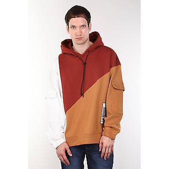 menns fliser stykke hette oversize sweatshirt