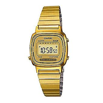 Casio Ladies Black Dial forgyldt Digital ur