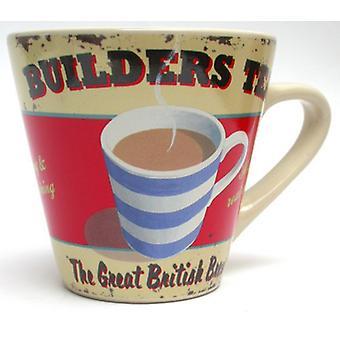 Martin Wiscombe Builders Tea Design Mug