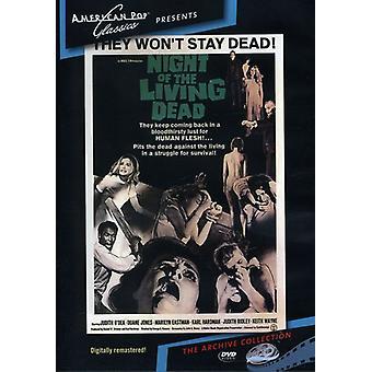 Nuit des morts-vivants (1968) importation USA [DVD]
