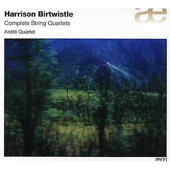 H. Birtwistle - Harrison Birtwistle: Komplette Streichquartette [CD] USA import