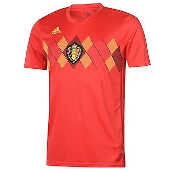 2018-2019 Бельгии дома Adidas футболка