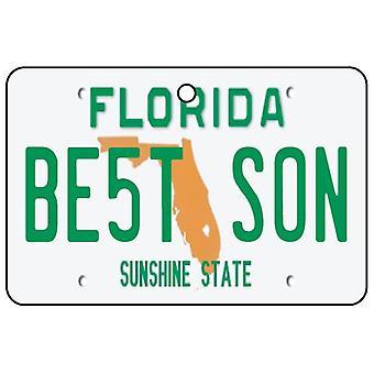 Florida - mejor hijo matrícula ambientador