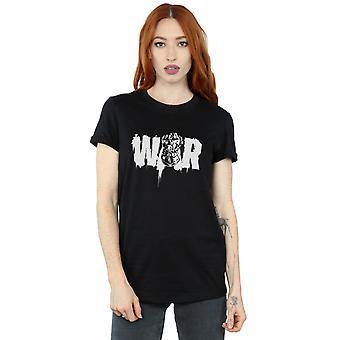 Marvel Women's Avengers Infinity War Fist Boyfriend Fit T-Shirt