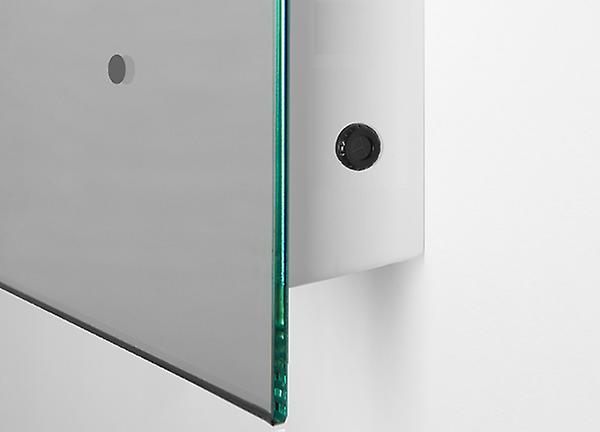 Ambient Ultra-Slim LED Bathroom Mirror With Demister Pad & Sensor K60T