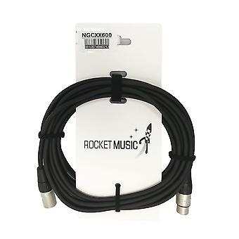 Rocket XLR-XLR Mic Cable - 6m