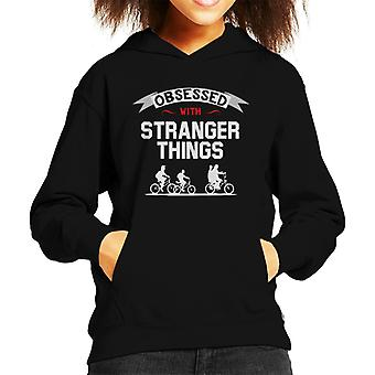 Obsessed With Stranger Things Kid's Hooded Sweatshirt