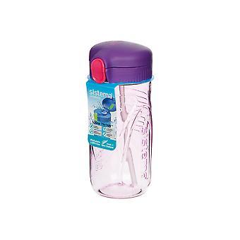 Sistema Quick Flip Bottle, 520ml Purple