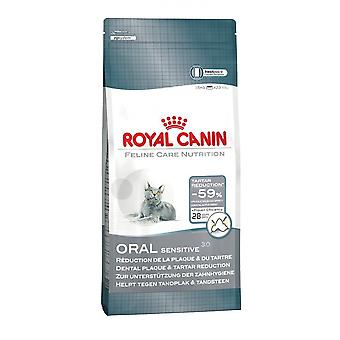 Royal Canin Cat Oral Sensitive 30, Feline Dry Food, Complete Cat Food 8kg