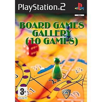 Brädspel Galleri (10 Spel) (PS2) - Ny fabrik förseglad