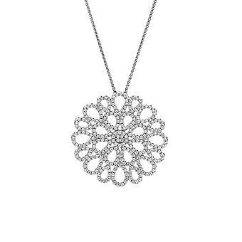 Orphelia argento 925 catena con pendente cerchio con Teardrops con zirconio ZH-7300
