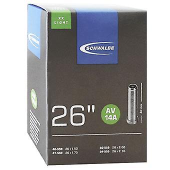 SCHWALBE AV 14A XX lys 26″ cykel tube