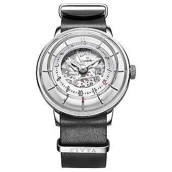 FIYTA Mens 3D Time Automatic Leather WGA868000.WWB Watch