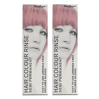 Stargazer Semi Permanent Hair Colour Baby Pink (2-Pack)