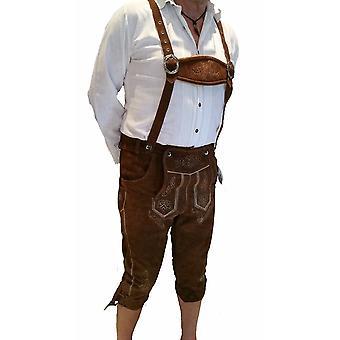 Costume di pantaloni in pelle cuoio di Oktoberfest