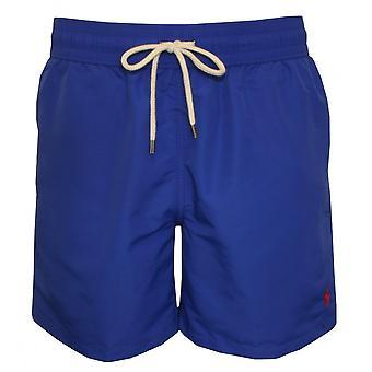 Polo Ralph Lauren Traveller Swim Shorts, Rugby Royal Blue W/navy