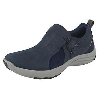 Senhoras Clarks Casual sapatos onda Rio