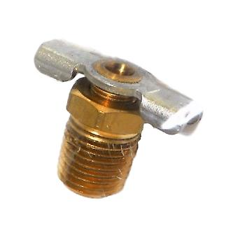 Big A 3-30340 Radiator Drain Petcock Brass 1/4 In. NPT Fits 87-88 Jeep J10