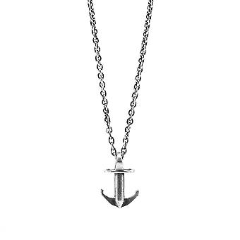 Anchor & Crew Mini Anchor Signature Silver Necklace Pendant