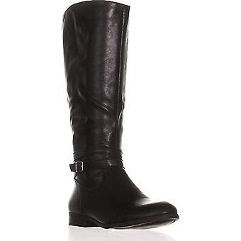 شركة & نمط كبور النسائية المغلقة تو الركبة عالية أزياء أحذية