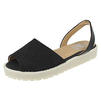 Womens Down To Earth Slingback Casual Sandals