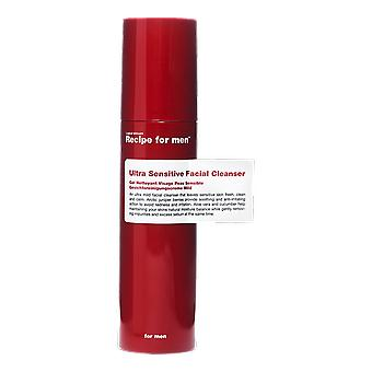 Recept voor mannen Ultra gevoelige Facial Cleanser 100ml