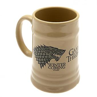 Game Of Thrones Official Stark Stein Mug