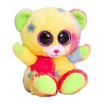 15cm Animotsu sesión arco iris oso suave peluche peluche lindo Animal