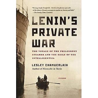 Lenins privé oorlog: de reis van de verbanning van de Intelligentsia en de filosofie Steamer