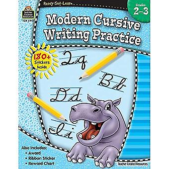 Moderna Cursive skriva praktiken årskurs 2-3