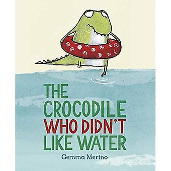 Le Crocodile qui n'aimait pas l'eau