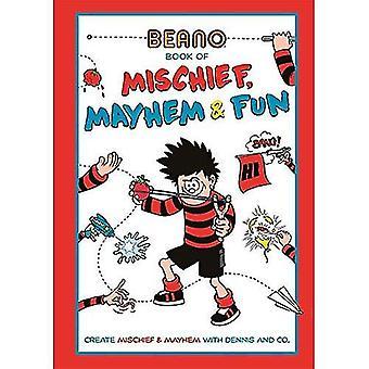 Beano Buch der Unfug, Chaos und Spaß