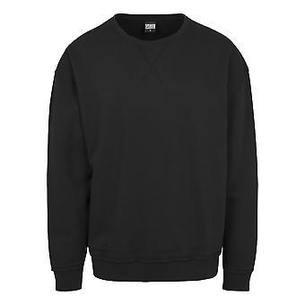 Urban Classics Herren Sweatshirt Oversized Open Edge