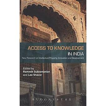 Access to Knowledge in India by Subramanian & Ramesh