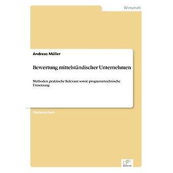 Bewertung mittelstndischer Unternehmen av Müller & Andreas