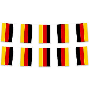 Germany Bunting 5m Polyester Fabric Country National