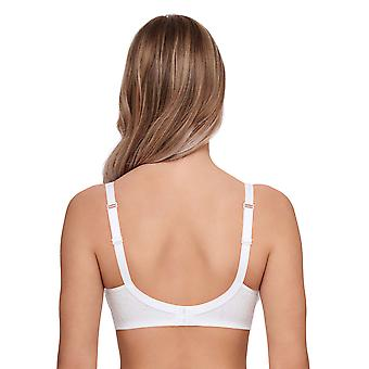 Susa 7507-3 Women's Topsy White Floral Non-Wired Soft Bra
