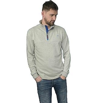 Lighthouse Seafarer Mens Sweater Grey Marl