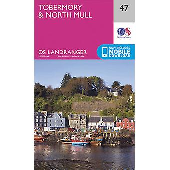 Tobermory & North Mull (February 2016 ed) by Ordnance Survey - 978031