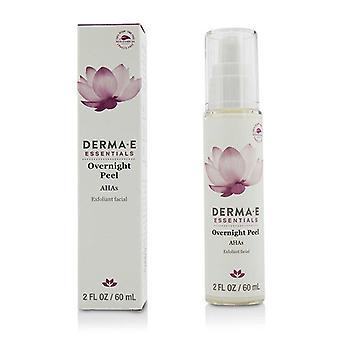 Derma E Essentials peste noapte Peel-60ml/2oz