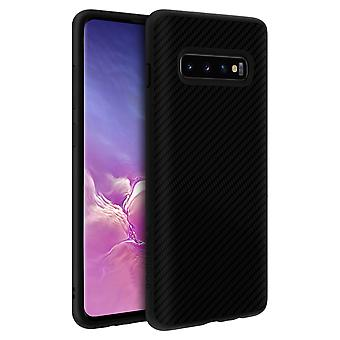 Galaxy S10 Plus Shockproof Carbon Series SolidSuit Rhinoshield black