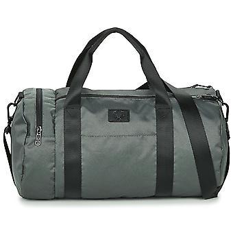Fred Perry Geweven Weave Duffel Bag L3218 - F10 DARK GUN METAL