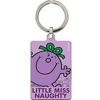 Little Miss Naughty Key Ring